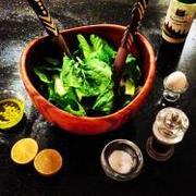 Original Caesar Salad (with homemade dressing)