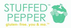 Stuffed Pepper. <br /> gluten-free. you & me.