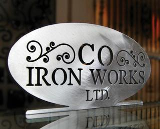 Custom Ornamental Iron Works Adds Water Jet Cutting to Their Repertoire