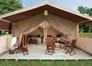 New For 2009 - Stylish Safari Tents From Eurocamp