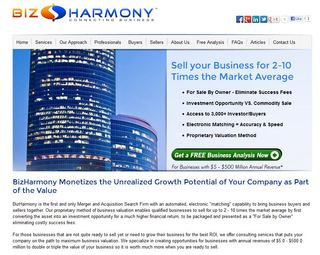 "Redesigned Website from BizHarmony Educates Retiring ""Baby Boomers"" on How to Sell Their Business for 2 &ndash…"