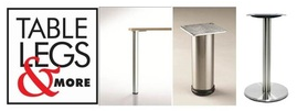 Tablelegsandmore.com Offers New Stainless Steel Table Bases