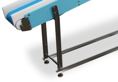 One Dimensional Leg Support on DynaClean Conveyors Don't Allow for Bacterial Build-Up