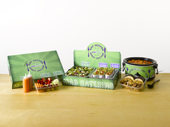 Get the works with MadGreensCatering.com made to order Chilis, Salads and Wraps.