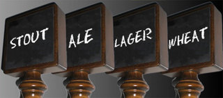 New Chalkboard Beer Tap Handle from Kegerators.com