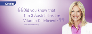 Kerri-Anne Kennerley joins the fight against osteoporosis and vitamin D Deficiency