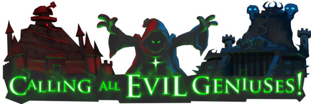 Evil Genius Building Competition!