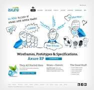 Axure Software Solutions Brand & Web Development and Design by MLD