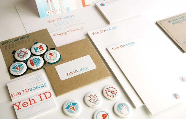 Yeh IDeology Brand & Design Collateral by MLD