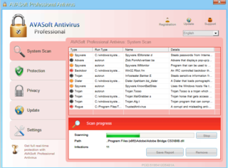 AVASoft Antivirus Professional Prone to Using Aggressive Methods to Extort Money from PC Users