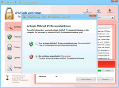 AVASoft Antivirus Professional is similar to other popular fake antivirus programs such as XP Security Cleaner Pro<br />