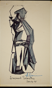 A sketch by Anthony Quinn From 1975