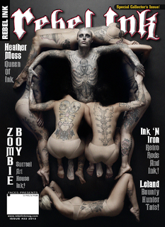 Zombie Boy Exhumes Dali's Skull For Rebel Ink Cover