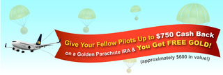 Lear Capital Launches Exclusive Golden Parachute IRA and Golden Referral Program for American Airlines Pilots