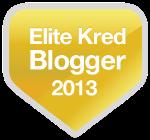 Official Elite Kred Blogger Badge