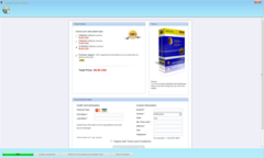 Do not provide credit card information on System Care Antivirus's purchase page.