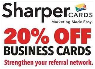 Sharper Cards Now Offering Limited-Time Discount on Business Cards