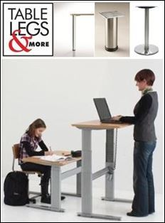 Table Legs and More Now Features Cast Iron Table Bases