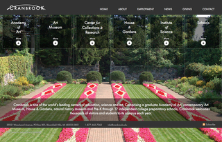 Michigan Web Design Company Launches New Website for Cranbrook Educational Community