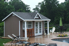 A Swimming Pool House from PA