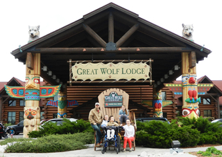Change For Kids Grand Prize Winner Takes 10 Families To Great Wolf Lodge