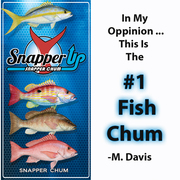 Fish Chum by Aquatic Nutrition Inc <br /> Fishing Chum is used for almost all species of saltwater fish and is very popular in  Florida Keys Fishing.