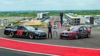 Fans Flock to Hilton Austin Airport to See the V8 Supercars Austin 400