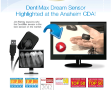 Patient comfort & unprecedented image clarity with the Dream Sensor by DentiMax.