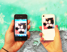 Bring your Instagrams from your smartphone to your life. Stick your instagrams over and over -- all over!