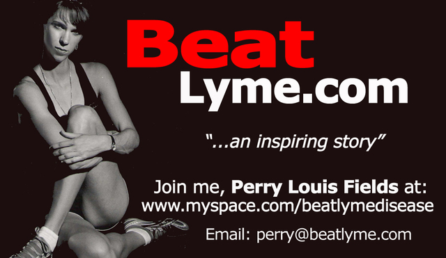 Perry Fields, Lyme Disease Patient and Athlete