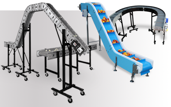 Dynamic Conveyor manufactures conveyors for a variety of manufacturing, packaging and food processing industries