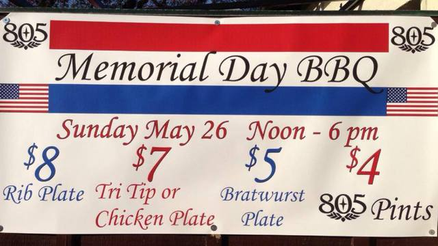 "West beach Santa Barbara Bar ""The Neighborhood Bar"" will host the 1st Annual Memorial Day BBQ party on Sunday May 26th from 12pm-6pm."