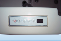 A1A Walk in Tubs new electronic control panel is both stylish and convenient to use.