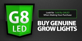 G8LED Gains Marketshare with LED Grow Lights