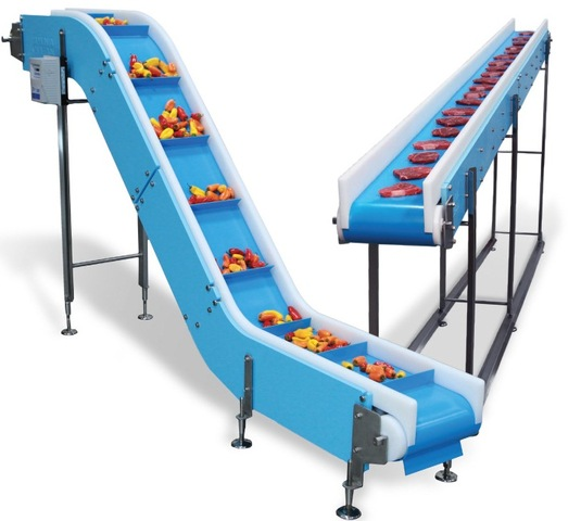 DynaClean food processing conveyor is designed for food processors and packagers