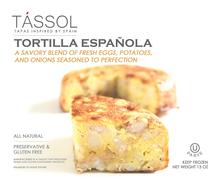 Tássol Tortilla Española Packaging