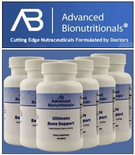 Advanced Bionutritionals Launches Ultimate Bone Support Product