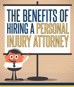 Tom Crenney & Associates Infographic: The Benefits of Hiring a Personal Injury Attorney