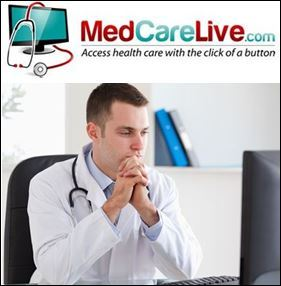 MedCareLive.com Now Allows Patients to See Doctor Online for Only $45