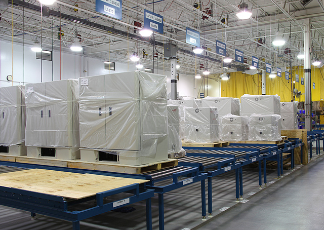 Ready-to-ship Despatch laboratory ovens.