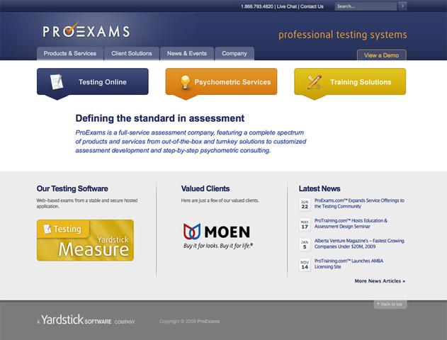 The ProExams Website