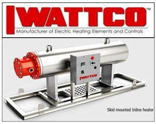 Wattco R & D Develops a New Skid Mounted Immersion Heater for the Petroleum Industry