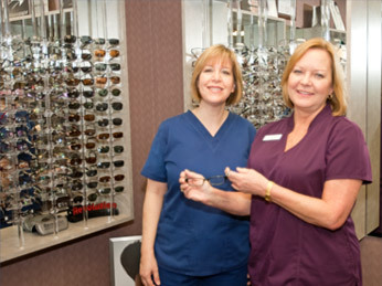 Designer eyewear is available at Tuskawilla Family Eye Care in Winter Springs, Florida