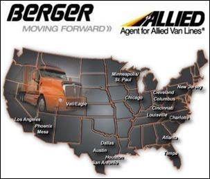Berger Allied is Now the Largest Agent of Allied Van Lines