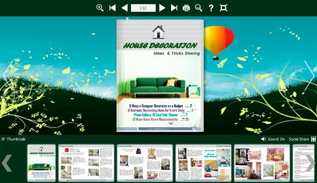 Flash page flip book created by Flip PDF