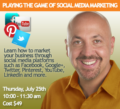 Playing the Game of Social Media Marketing with Doug Motel on 7/25/13