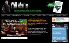 WillMarre.com: Emmy-award winning writer, speaker and expert on cutting-edge leadership strategies, change management and social responsibility