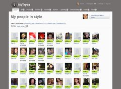 A user's most similar people in style