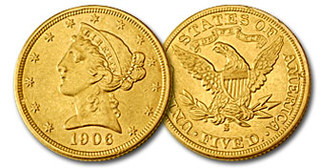 Lear Capital Offers Exclusive Gold Polar Bear Coin with the Purchase of the $5 Liberty Gold Half Eagle for August Promot…