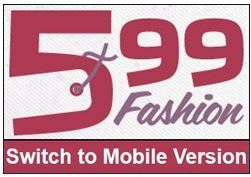 599 Fashion Launches New Mobile Design for Website